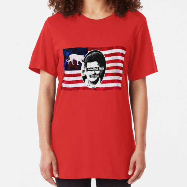 God Save The Sheen Slim Fit T-Shirt