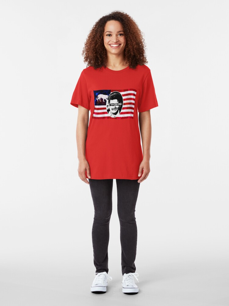 Alternate view of God Save The Sheen Slim Fit T-Shirt