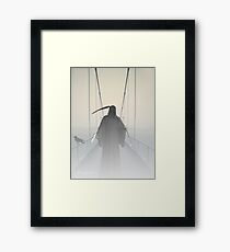 Grim Reaper This Way Comes Framed Print