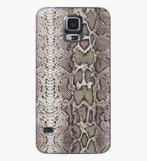 Schlangenhaut Hülle & Klebefolie für Samsung Galaxy