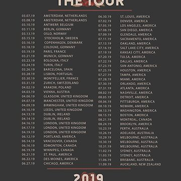 Shawn Mendes The Tour 2019 by Beginartist