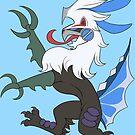 Heraldic Silvally Flying Type by LupusEpulari