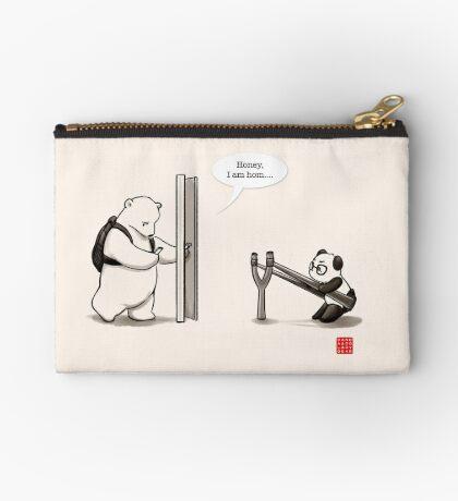 Panda Attack Zipper Pouch