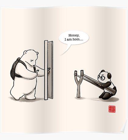 Panda Attack Poster