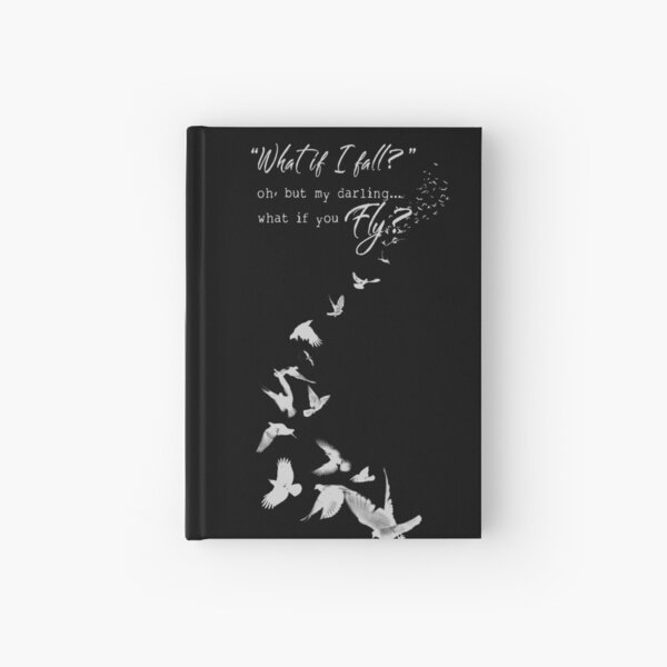 What if you Fly? Hardcover Journal