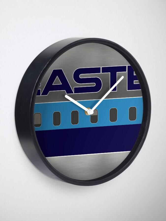 Alternate view of Plane Tees - Eastern Air Lines (Silver) Clock