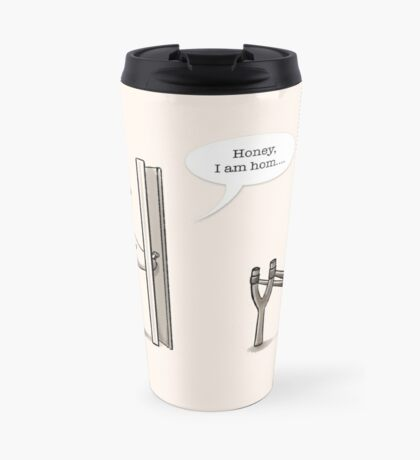 Panda Attack Travel Mug