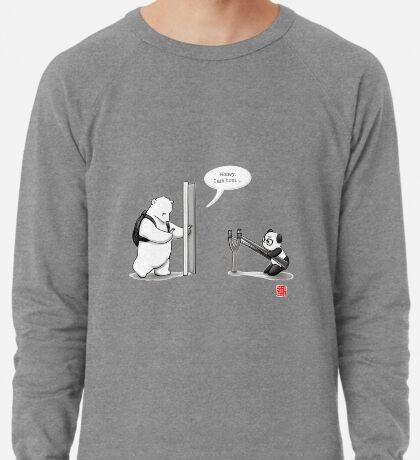 Panda Attack Lightweight Sweatshirt
