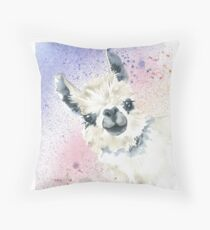 Rainbow Alpaca Floor Pillow