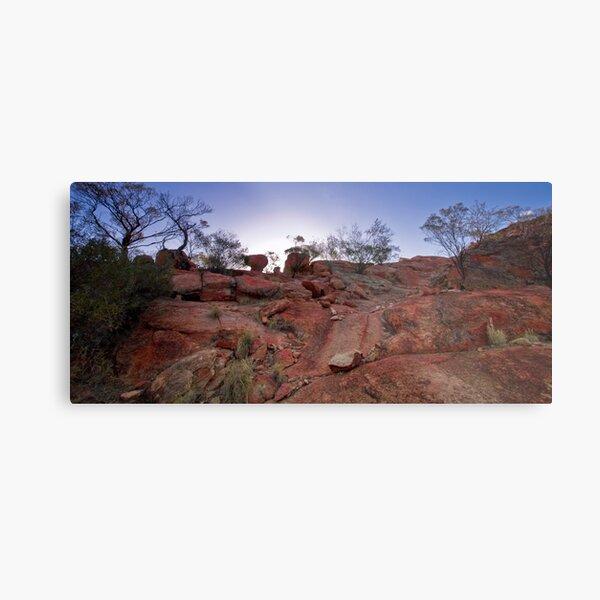The Granites, Mount Magnet, WA Metal Print