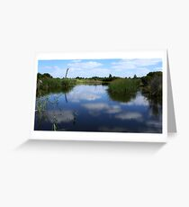 Greenfields Wetlands Greeting Card