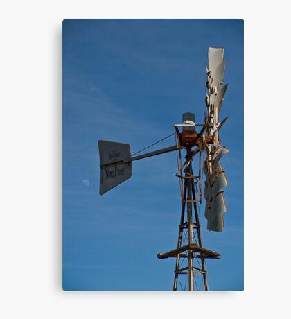 Windmill, White Peak Rd, Geraldton Canvas Print