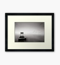 Mono-Blocks Framed Print