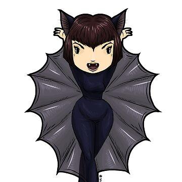 Batty flies at midnight by Bantambb