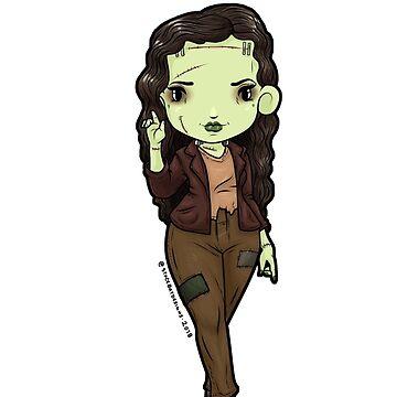 Frankenstein's monster by Bantambb