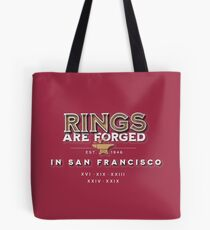 Rings are Forged in San Francisco Tote Bag