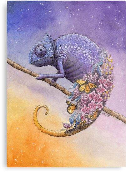 Chameleon by Stephanie KILGAST