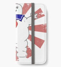 Stay Puft Retro Japanese Ghostbusters iPhone Wallet/Case/Skin
