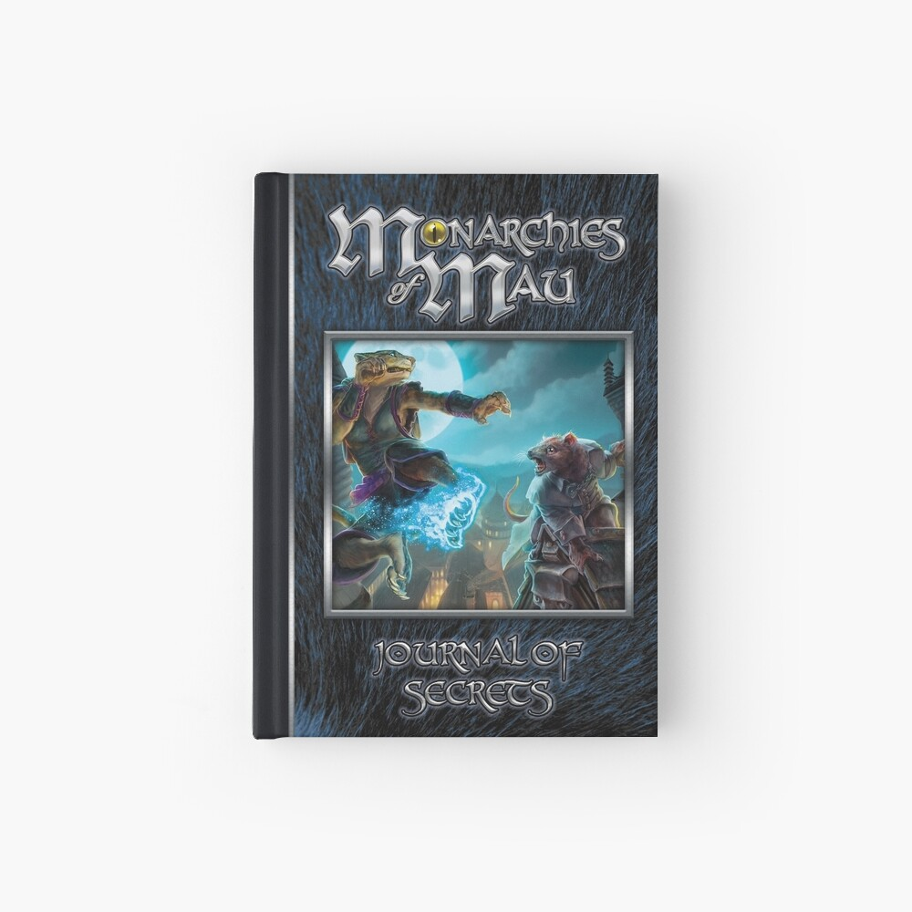 Monarchies of Mau Cover Art Hardcover Journal