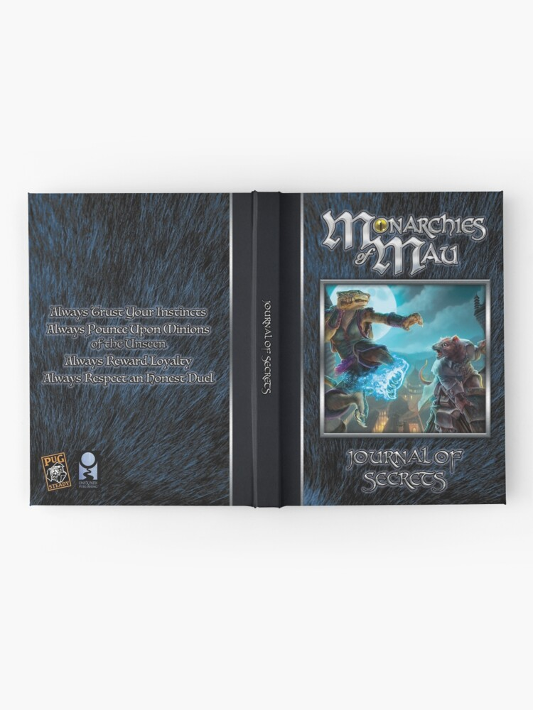 Alternate view of Monarchies of Mau Cover Art Hardcover Journal