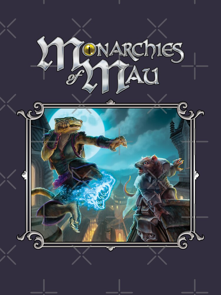 Monarchies of Mau Cover Art by TheOnyxPath