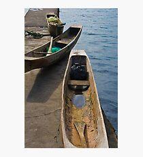 Boats - Lake Toba, Sumatra Indonesia Photographic Print