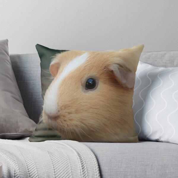 Vauxhall City Farm - Guinea Pig (Ginger) Throw Pillow