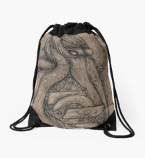 The Kraken Drawstring Bag