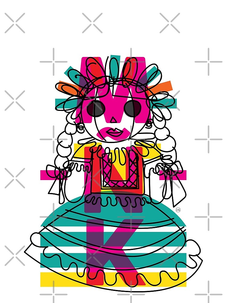 Doodle Doll by MiguelLopezArt