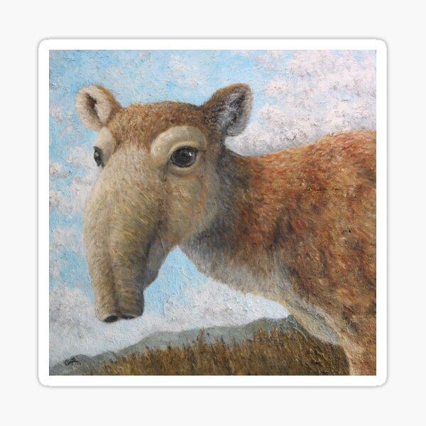 Saiga antelope (Saiga tatarica) Sticker