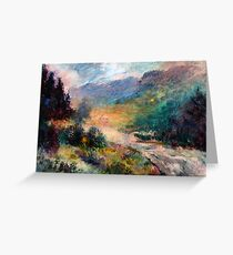 Val Pusteria Italy Greeting Card