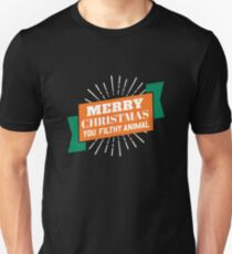 Merry Christmas You Filthy Animal Gifts Merchandise Redbubble