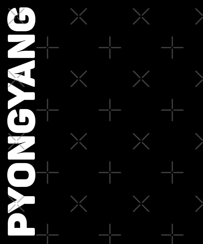 Pyongyang T-Shirt by designkitsch