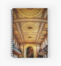 Chapel Ceiling Spiral Notebook
