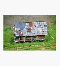 Home sweet home - Mamasa Valley, Sulawesi Indonesia Photographic Print
