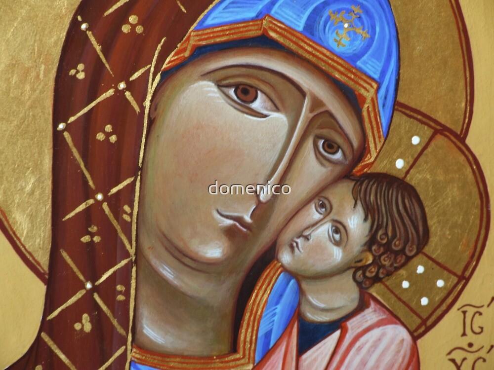 Madre di Dio by domenico