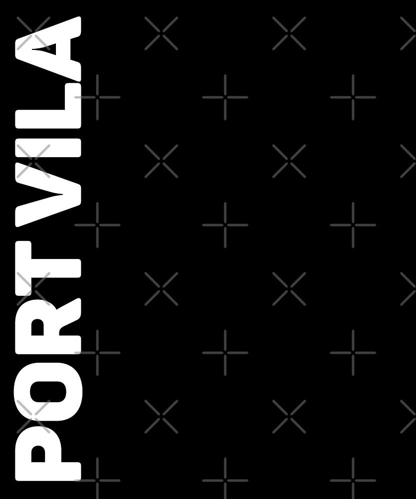 Port Vila T-Shirt by designkitsch