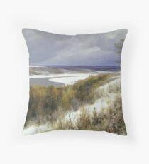 a stunning Russia landscape Throw Pillow