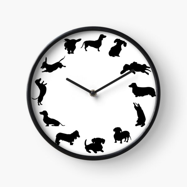 It's dachshund o'clock Clock