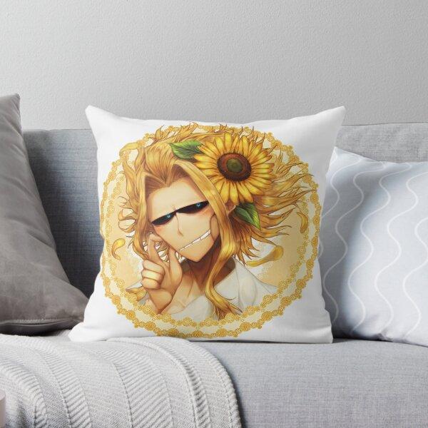 Toshinori Flower Throw Pillow