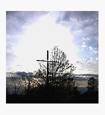 Calvery Cross Photographic Print