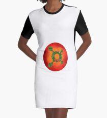 Orangetheory Weihnachten T-Shirt Kleid