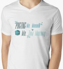 Paging Mr. Morrow... Men's V-Neck T-Shirt