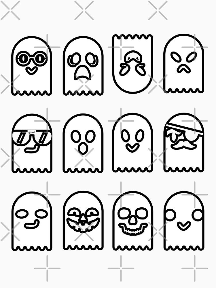 Gaggle of Ghosts by raineofiris