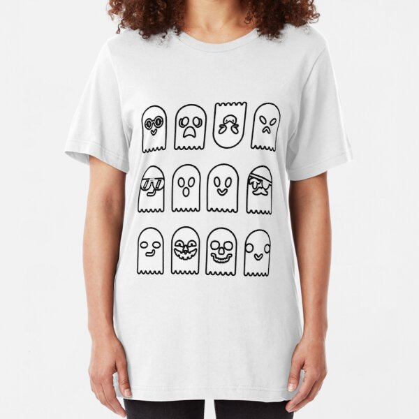 Gaggle of Ghosts Slim Fit T-Shirt