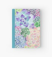Masked Flora Collection Succulents Hardcover Journal