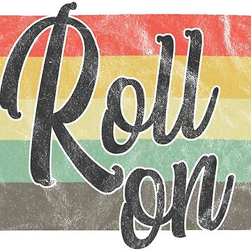 Rolling Pin Roll On Vintage Retro Look by riverportgifts