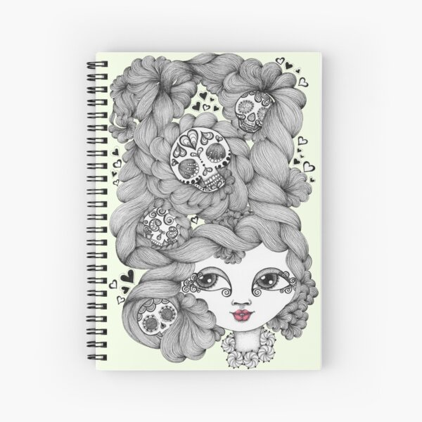 Lovers Swoon Spiral Notebook