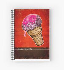 Brain Freeze! Spiral Notebook
