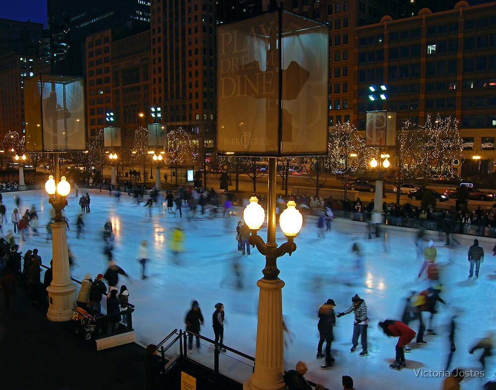 Skating in the City by Victoria Jostes